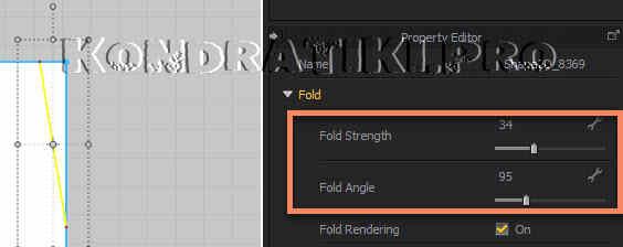 Fold Strange Angle для складок