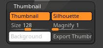 Thumbnail Zbrush Preferences
