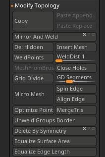 Geometry ZBrush