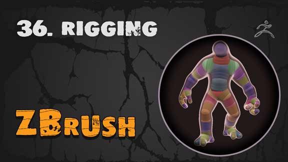 Rigging Zbrush
