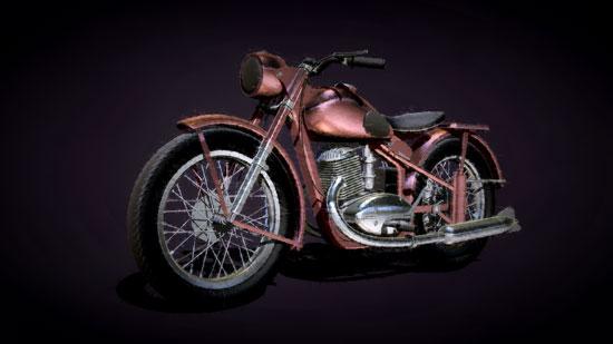 Bike-Red-ZBrush