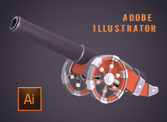 Курс иллюстратора 3D-уроки