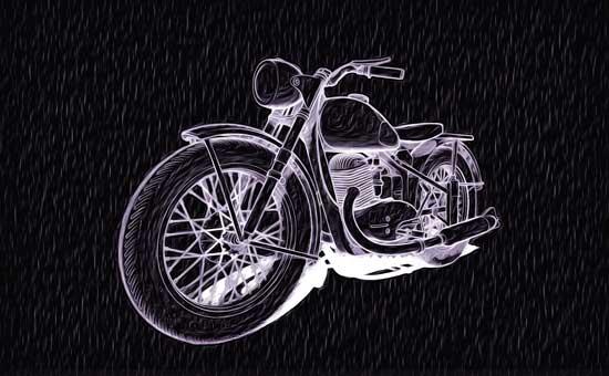 bike retro nuar